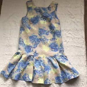 ASOS dropwaist minidress in floral print